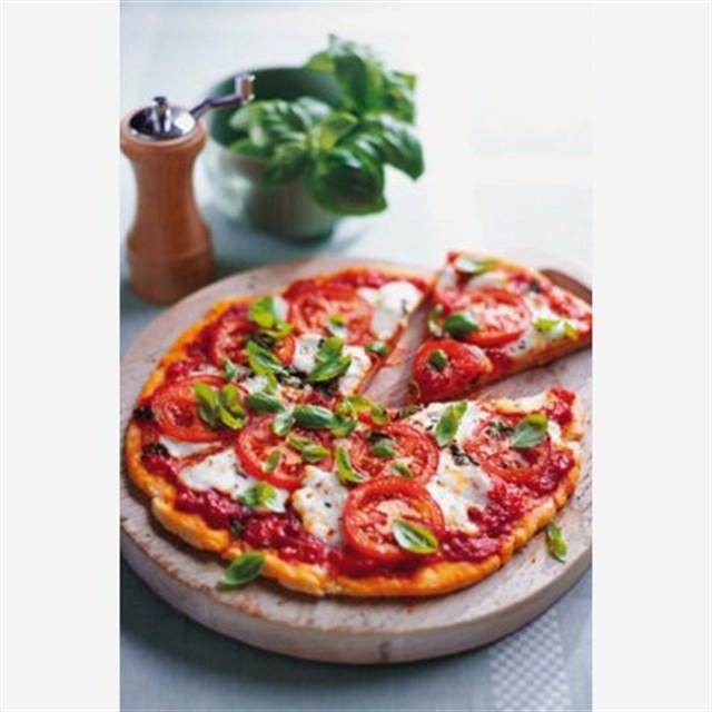 Evde diyet pizza nasıl yapılır?